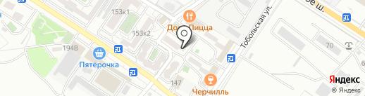 Хэлпер на карте Новороссийска
