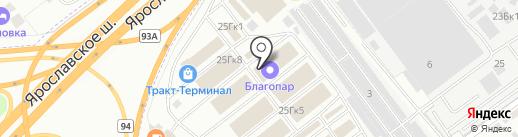 Джинн сантехник на карте Мытищ