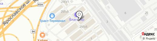 Большой мастер на карте Мытищ