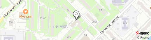 ГАРАНТА на карте Мытищ