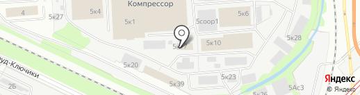 Alfox на карте Москвы