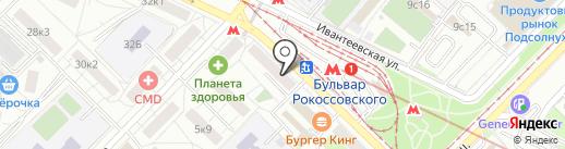 Будь как дома на карте Москвы