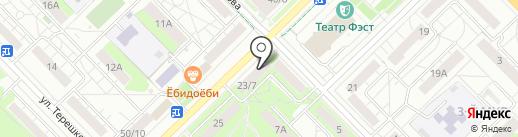 KDL на карте Мытищ