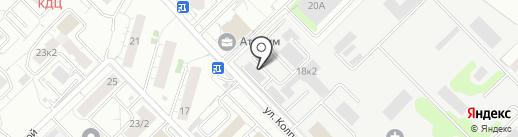 Общественная приемная депутата Совета депутатов городского округа Мытищи Казанова Ю.Н. на карте Мытищ