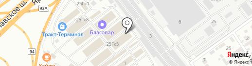 Стендор на карте Мытищ