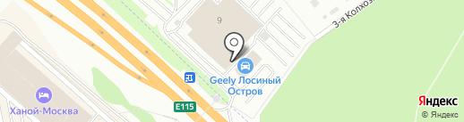 Автопроф на карте Мытищ