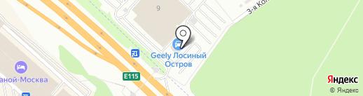 Лексус-Лосиный Остров на карте Мытищ