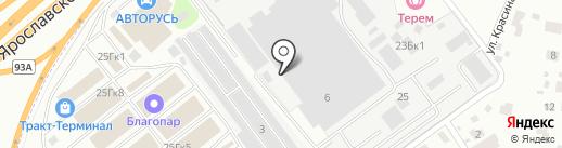 Остров-Комплект на карте Мытищ