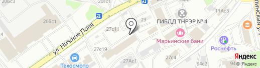СмартТек на карте Москвы