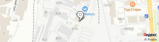 Лайтмед на карте Москвы