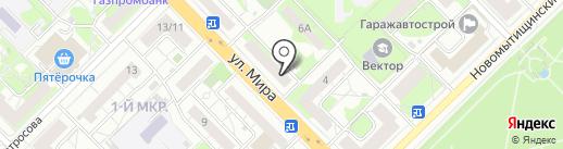 СушиСет на карте Мытищ
