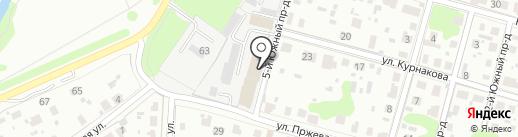 Отдел Военного комиссариата Московской области на карте Домодедово