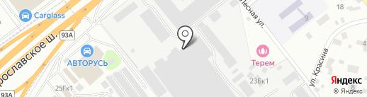 Перловский завод энергетического оборудования на карте Мытищ