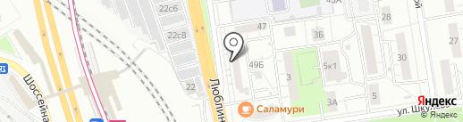 ОРТОМЕД24 на карте Москвы