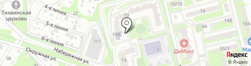 ЭкоДом на карте Домодедово