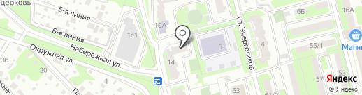 Басова.ру на карте Домодедово