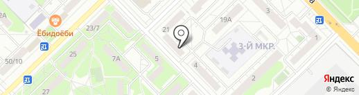 Комок.рус на карте Мытищ
