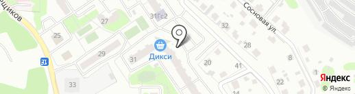 Хороший на карте Домодедово