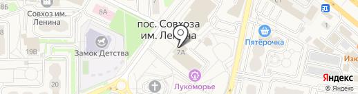 Орион на карте Совхоза имени Ленина