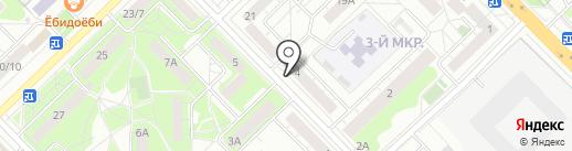 Киоск фруктов и овощей на карте Мытищ