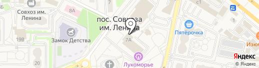 Центр культуры пос. совхоза им. Ленина на карте Совхоза имени Ленина