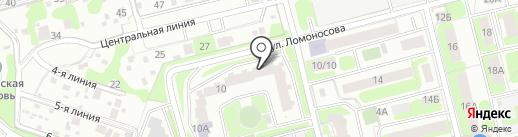 Ваш слуга на карте Домодедово