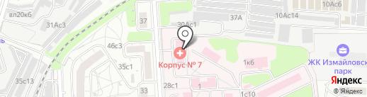 Городская клиническая больница им. Ф.И. Иноземцева на карте Москвы