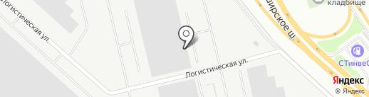 Северное Домодедово на карте Домодедово
