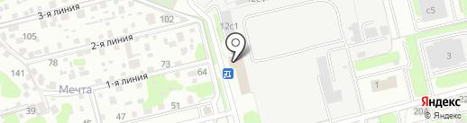 Металлинвест на карте Домодедово