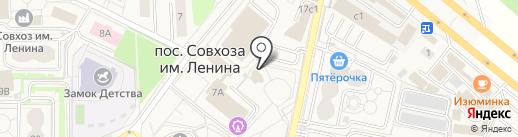 У дедушки АУ на карте Совхоза имени Ленина