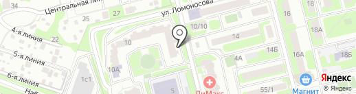 Исмаил на карте Домодедово