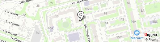 Аэродар-Мед на карте Домодедово
