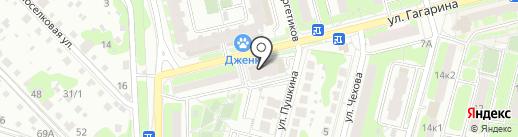 Грация на карте Домодедово