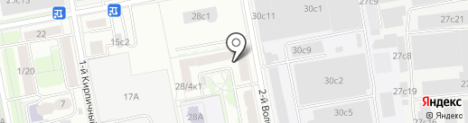 Miss Tais на карте Москвы