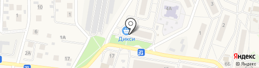 Дикси на карте Пирогово