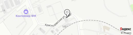 ТЕХСЕРВИС на карте Домодедово