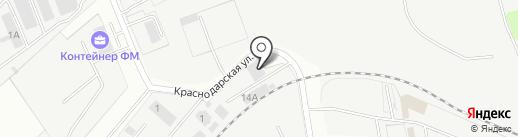 Авиа-Альянс на карте Домодедово