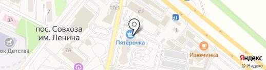 Макс-м на карте Совхоза имени Ленина