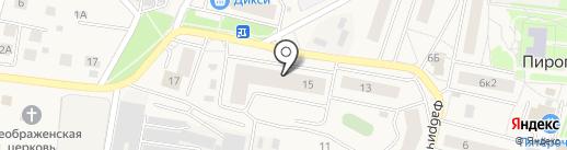 Дамский рай на карте Пирогово