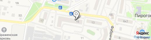 Магазин товаров для дома на карте Пирогово