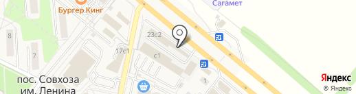 Магазин товаров для дома и сада на карте Совхоза имени Ленина