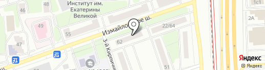 Студия дизайна на карте Москвы