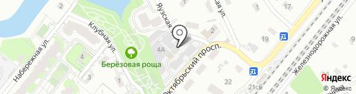 Магазин-склад на карте Мытищ