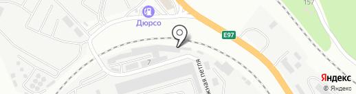 КМКБ на карте Новороссийска