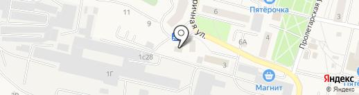 Мясная лавка на карте Пирогово