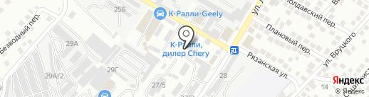 ПИК на карте Новороссийска