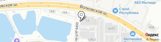 МОТО-ФРЕШ на карте Мытищ