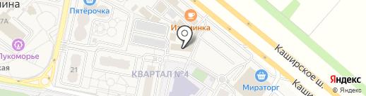 ЛаврСтрой на карте Совхоза имени Ленина