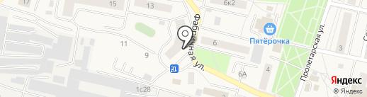 Магазин разливного пива на карте Пирогово