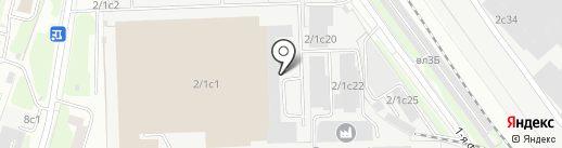 ПромГрафит на карте Москвы